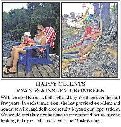 Happy Clients Ryan and Ainsley Crombeen